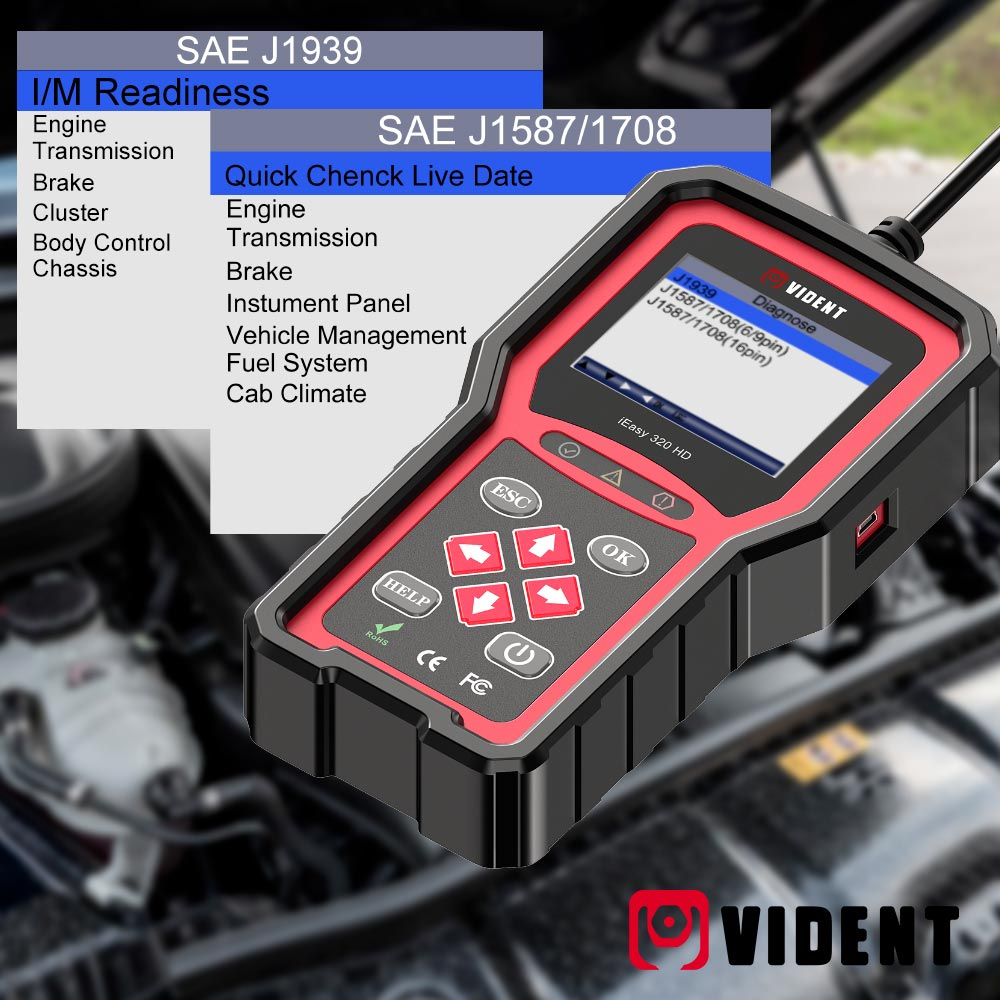 Vident iEasy320HD Code reader supported protocol