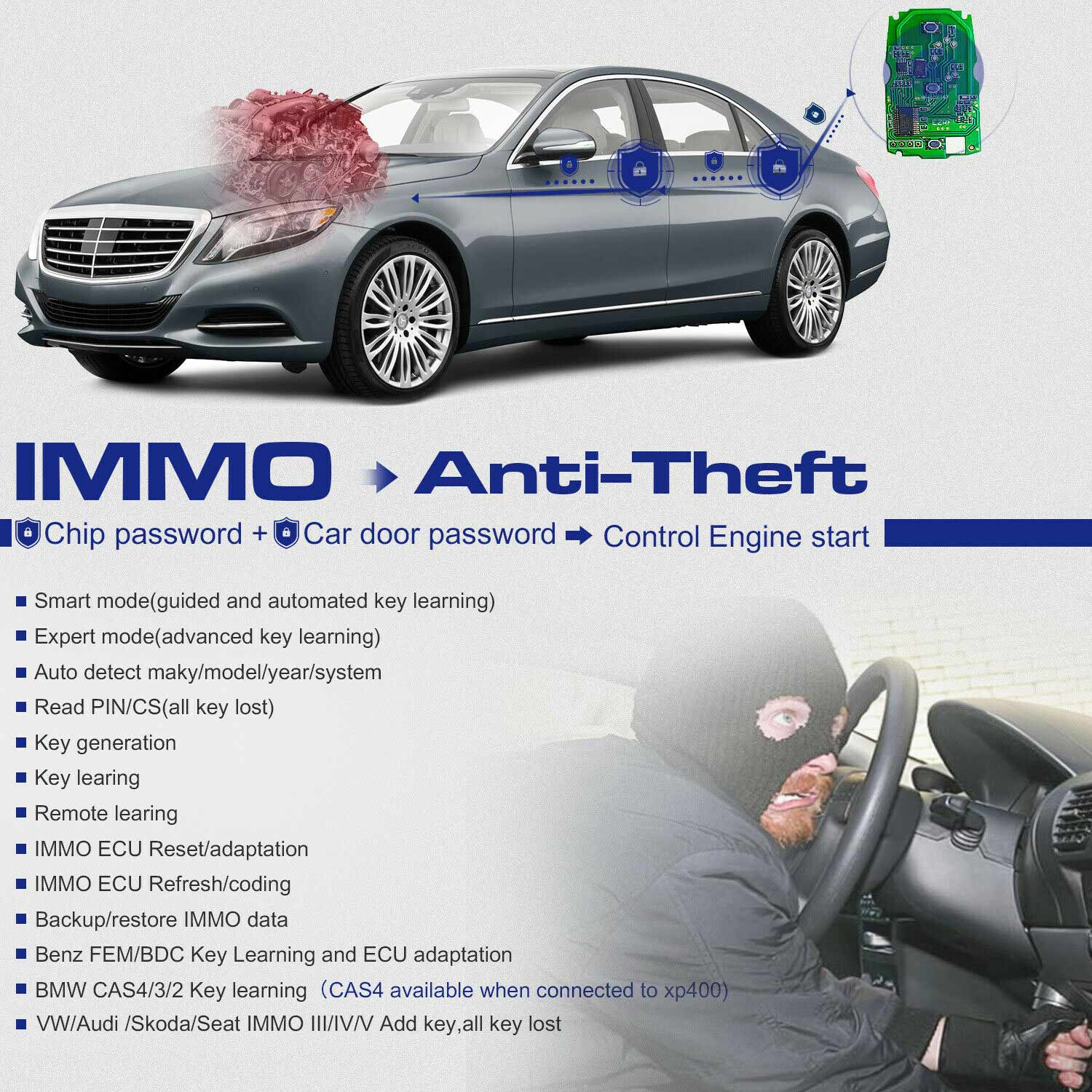 MaxiIM IM508-Anti-theft