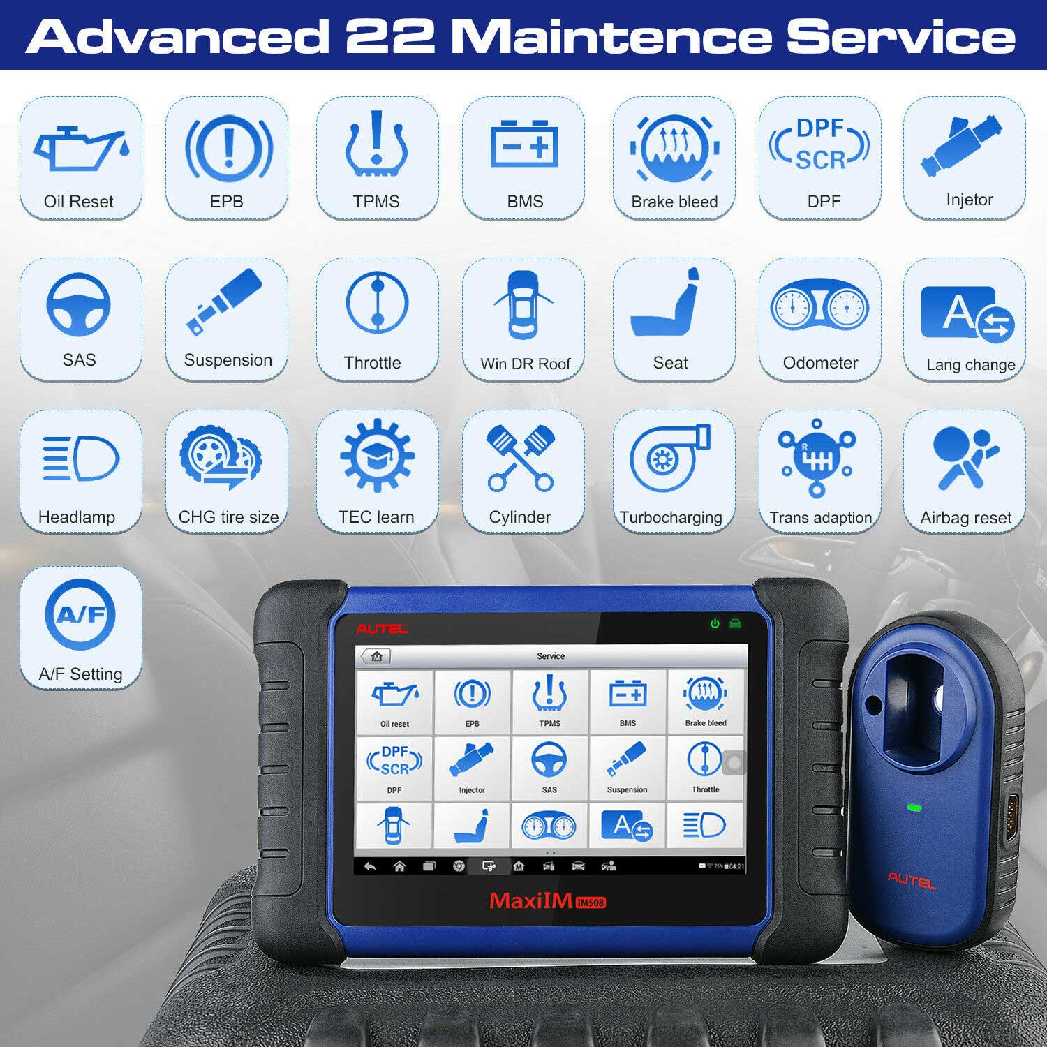 MaxiIM IM508 Advanced 22 Maintence Service