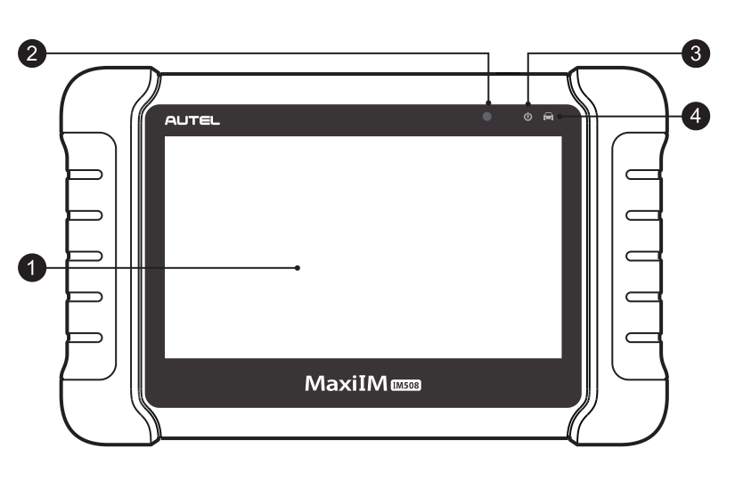 MaxiIM IM508 display