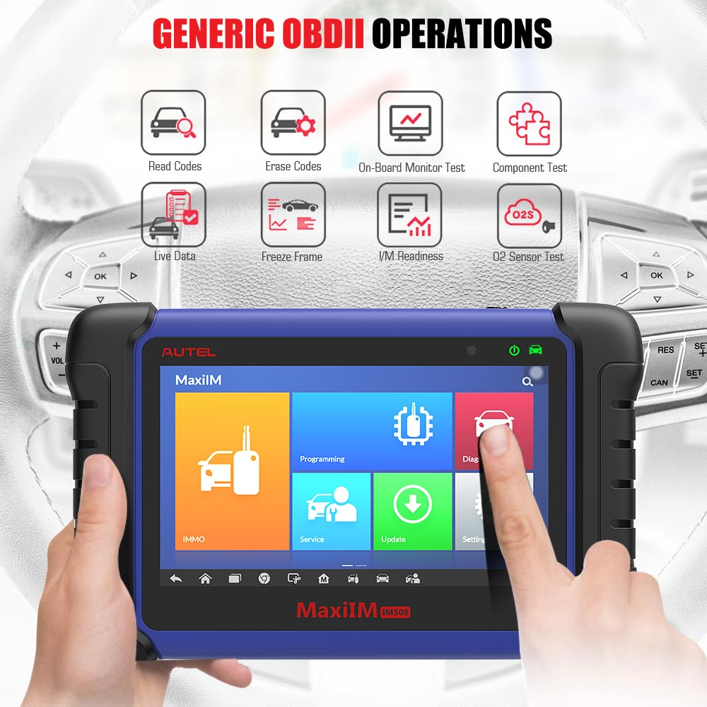 MaxiIM IM508 Generic OBDII Operations