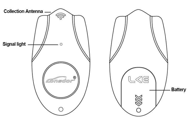 Lonsdor LKE Smart Key Emulator 5 in 1