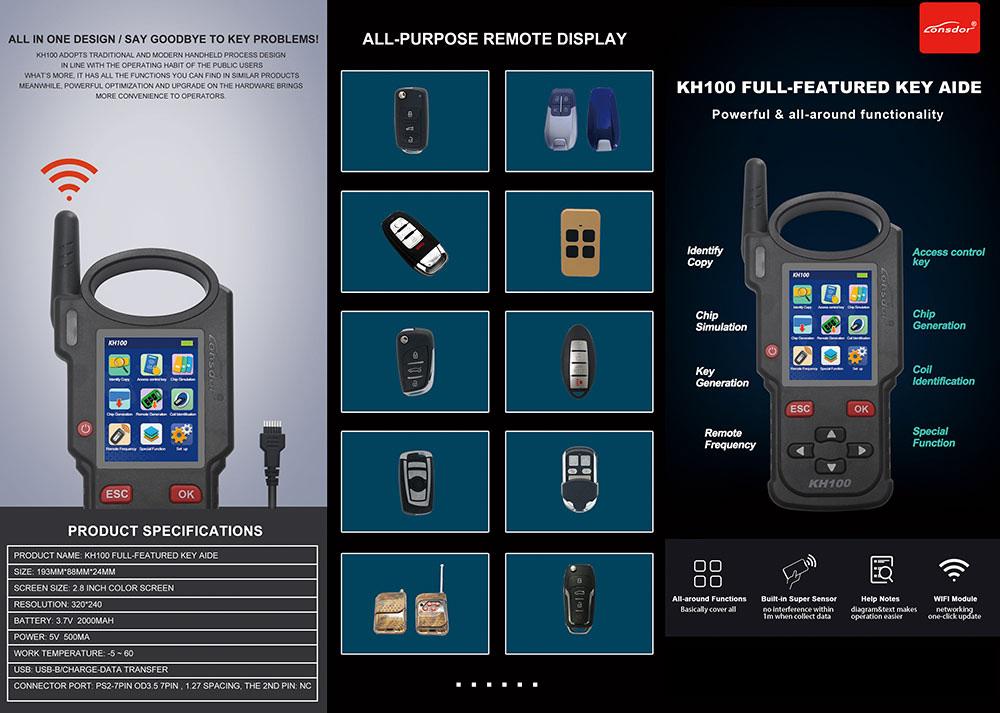 Lonsdor KH100 Features